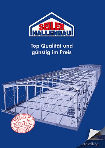 Hallen- und Gewerbebau Seiler - Prospekt